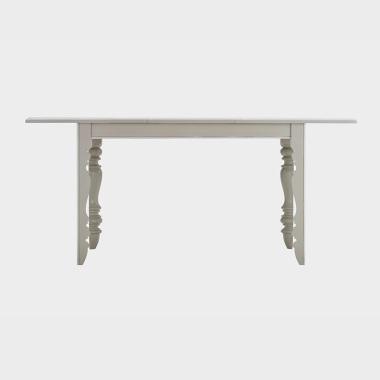 鸢尾花开 1.25-1.7米伸缩餐桌/书桌