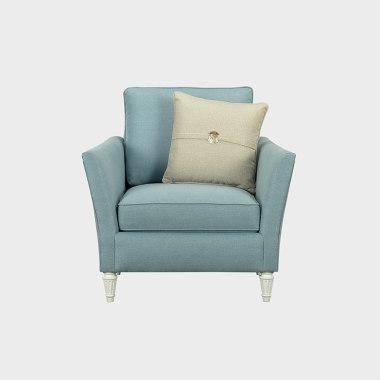 蓝色风铃 单人沙发