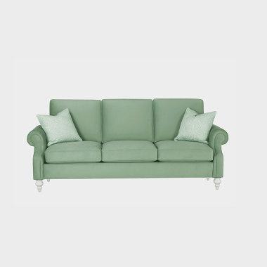 蓝调探戈 三人沙发