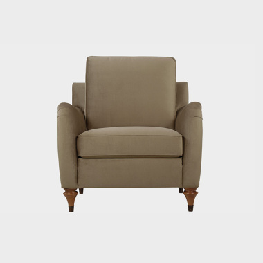 夏洛克公寓 单人沙发(橡子棕)