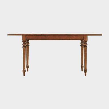 夏洛克公寓 1.25-1.7米伸缩餐桌/书桌(华生棕)