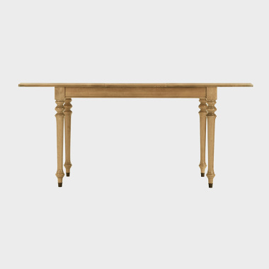 夏洛克公寓 1.25-1.7米伸缩餐桌/书桌(木棉)