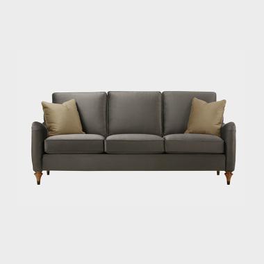 夏洛克公寓 三人沙发(橡子棕)