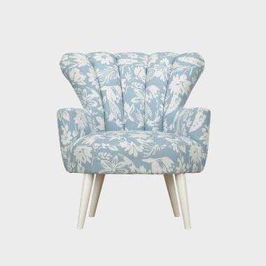 花见 沙发椅 花径蓝
