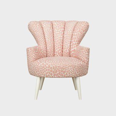 花見 沙發椅 斑斕粉
