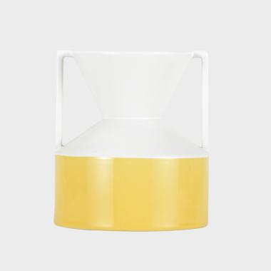 噜噜黄色装饰瓶