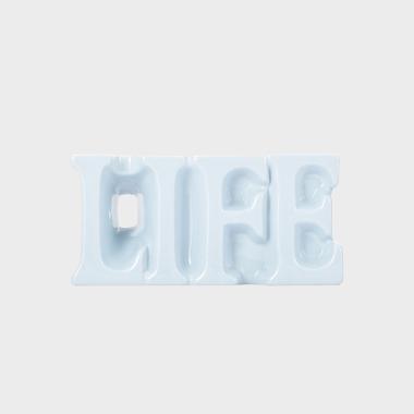 LIFE藍色花瓶