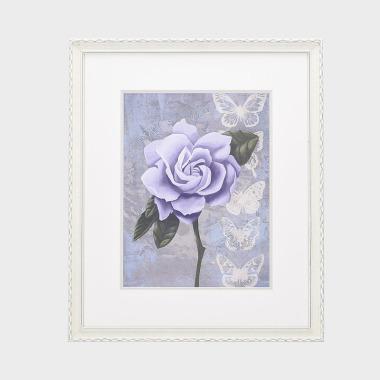 栀紫装饰画-A