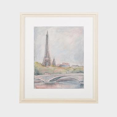 邂逅巴黎装饰画-B