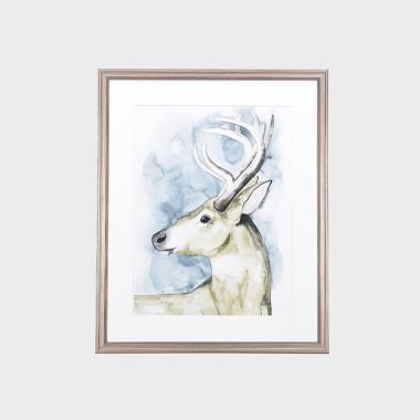 藍鈴鹿裝飾畫-A