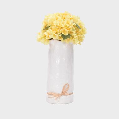 尋夢-黃色繡球盆花-大