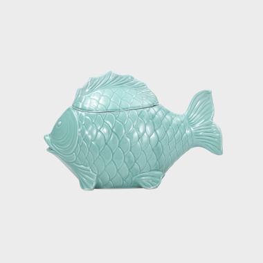 海洋趣味-绿色鱼汤窝