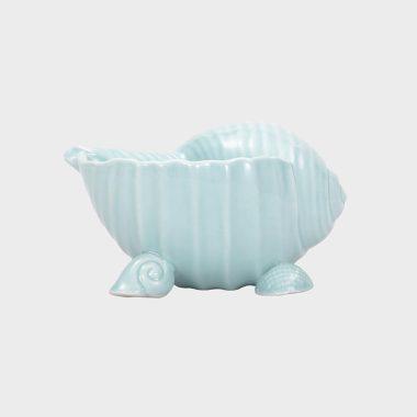 海洋趣味-蓝色海螺碗