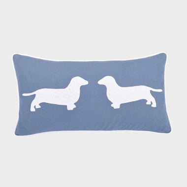 親親汪-深藍色腰枕