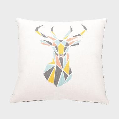麋鹿之森装饰抱枕