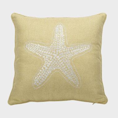 星晴-黃色裝飾枕
