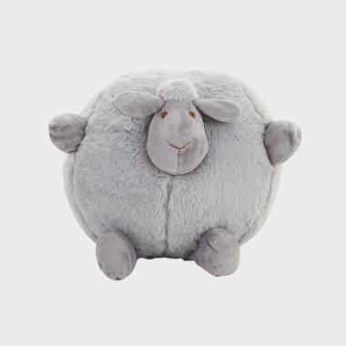 嘟嘟-灰色羊宝宝玩偶