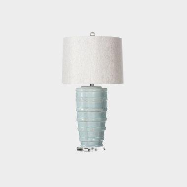 问竹陶瓷台灯