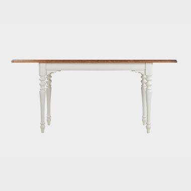 绿野仙踪?1.25-1.7米伸缩餐桌/书桌(橡子棕)