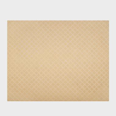 芊芊格-黄色手工枪刺地毯