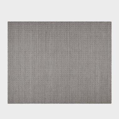 荡漾-黑色平织地毯