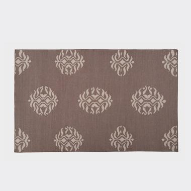 摩情蜜意-棕色平织地毯