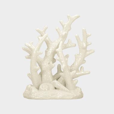 海洋趣味-白色珊瑚擺件