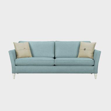 蓝色风铃 三人沙发