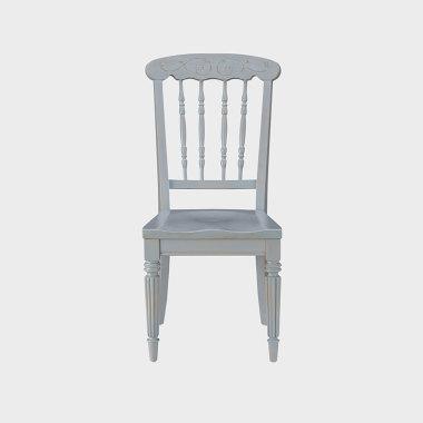 蓝色风铃 餐椅