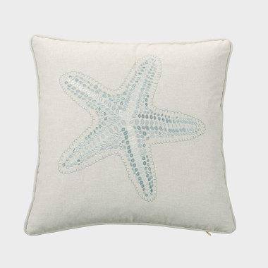 星晴-淺灰色裝飾枕