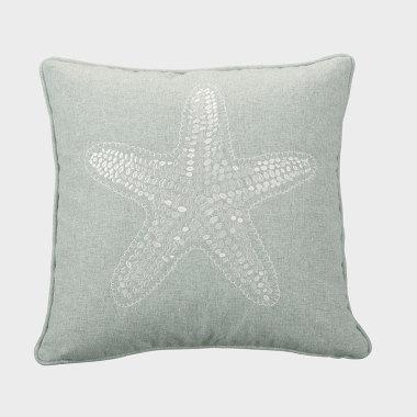 星晴-藍色裝飾枕