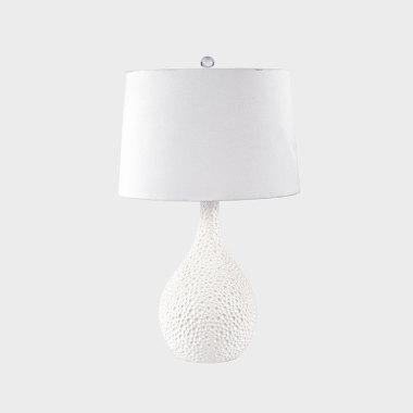 星穹-白色陶瓷臺燈