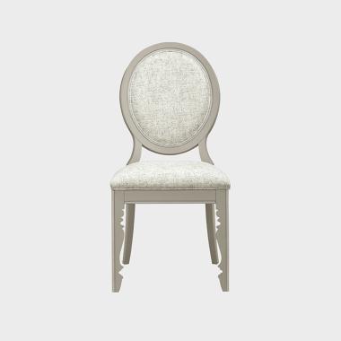 鸢尾花开 餐椅