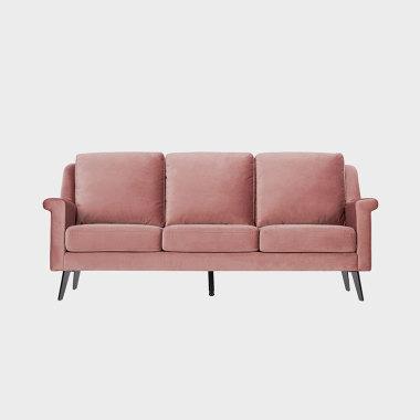 薇光欧若拉 三人沙发