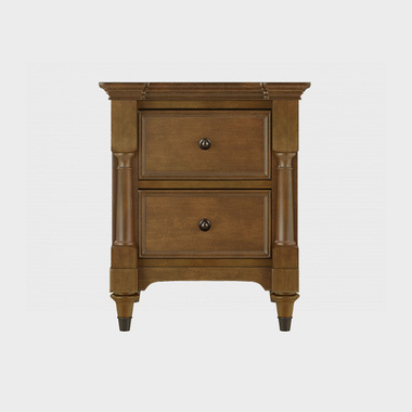 夏洛克公寓 床头柜 (橡子棕)