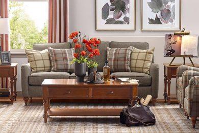 客厅沙发和茶几按照这些方式搭配,…