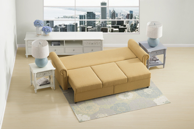 小户型客厅首选沙发床,实用灵活还…