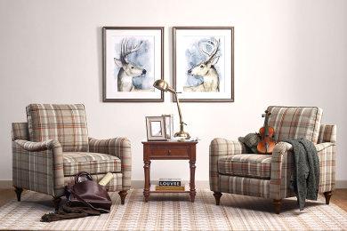 这样选的地毯摆在客厅,竟然这么好…